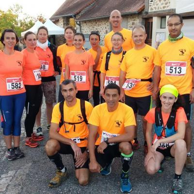 Trail de la Voie romaine du 14 octobre 2018