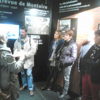 Visite du Mémorial d'Oradour sur Glane